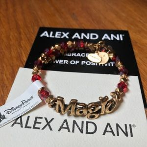 Disney Parks Alex and Ani Magic Wrap Bracelet